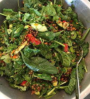 plantbased catering fresh salads local organic produce