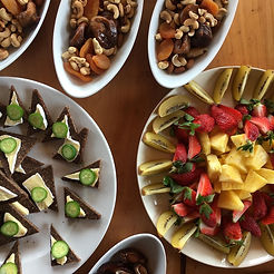 catering plantbased sweet platters