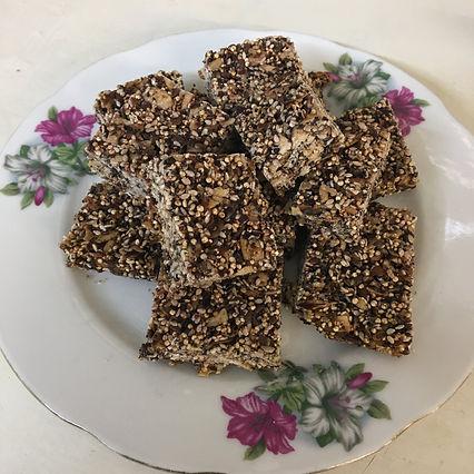 quinoa bars sugar free gluten free