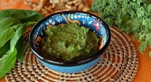 Kale and White Miso Pesto