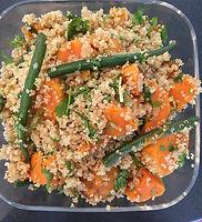 plantbased catering local organic produce Quinoa Tabuleh
