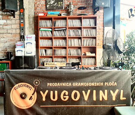 Yugovinyl: Prodavnica gramofonskih ploča