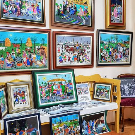 Putokaz: Umetnička galerija ''Uramljene uspomene''