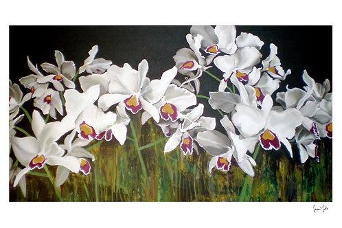 """Orchids"" Print"
