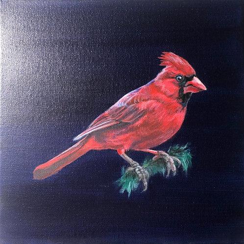"""""""Cardinal"""" Painting"""