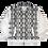 Thumbnail: Unisex Snakeskin Bomber Jacket