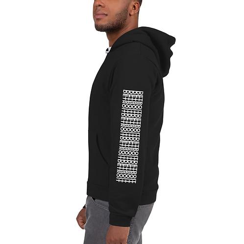 detroit infinity zip up hoodie sara lutz art