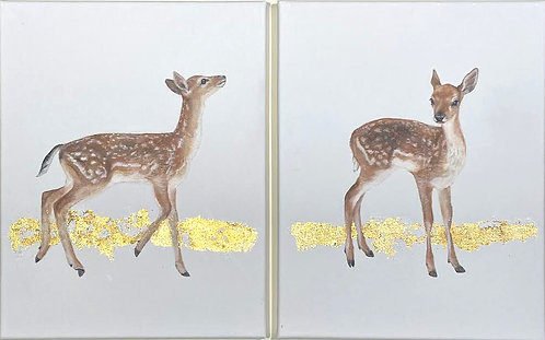 """""""Fawns"""" Painting Set"""