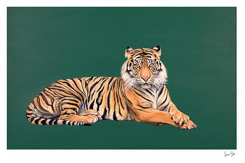 """""""Tigress"""" Print"""