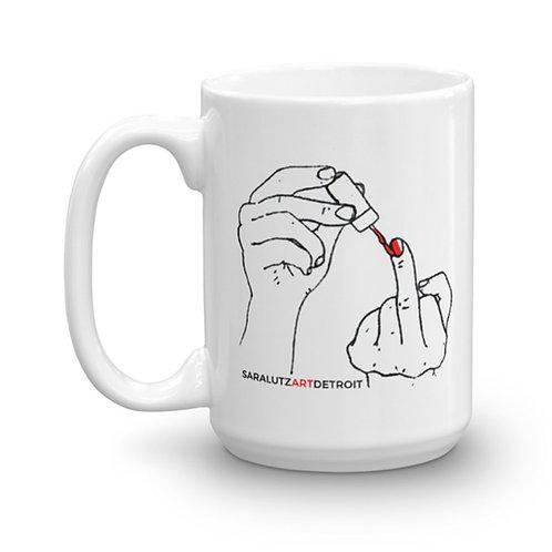 Crude Manicure Mug