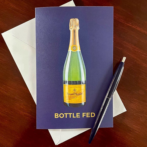 Bottle Fed: Veuve Greeting Card Set