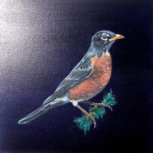 """Robin"" Painting"