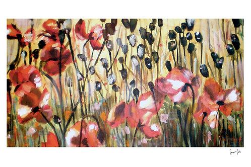 """Poppies"" Print"