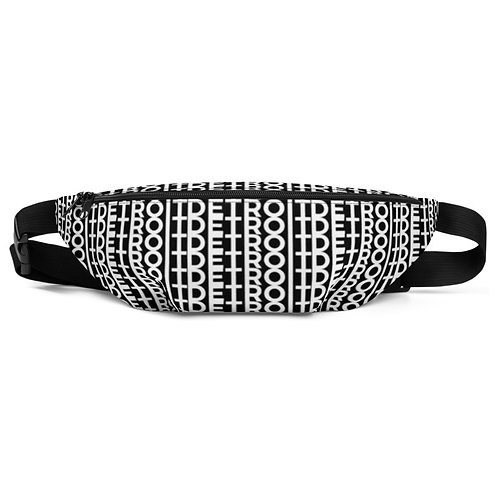 Detroit Fanny Pack, black and white