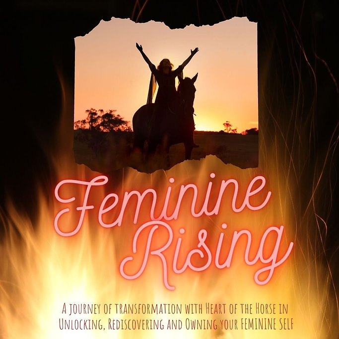 feminine rising course with Heart of the