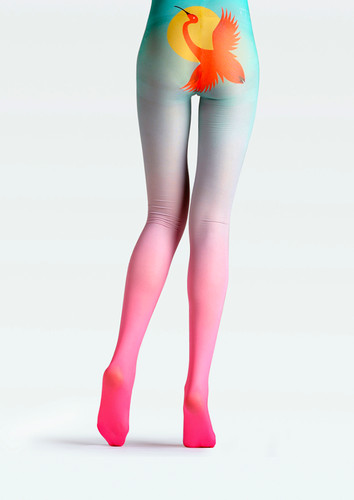 b0cca4883af ... TheHumanMade Graphic Coloured Tights -