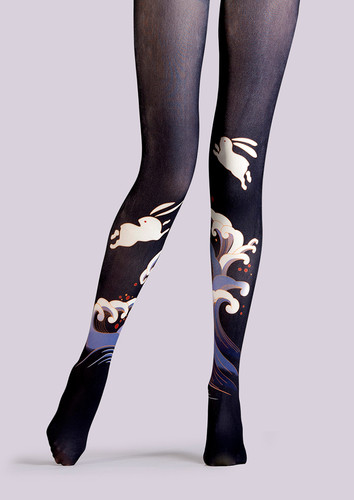 59f316d4eae TheHumanMade Graphic Colourful Tights -