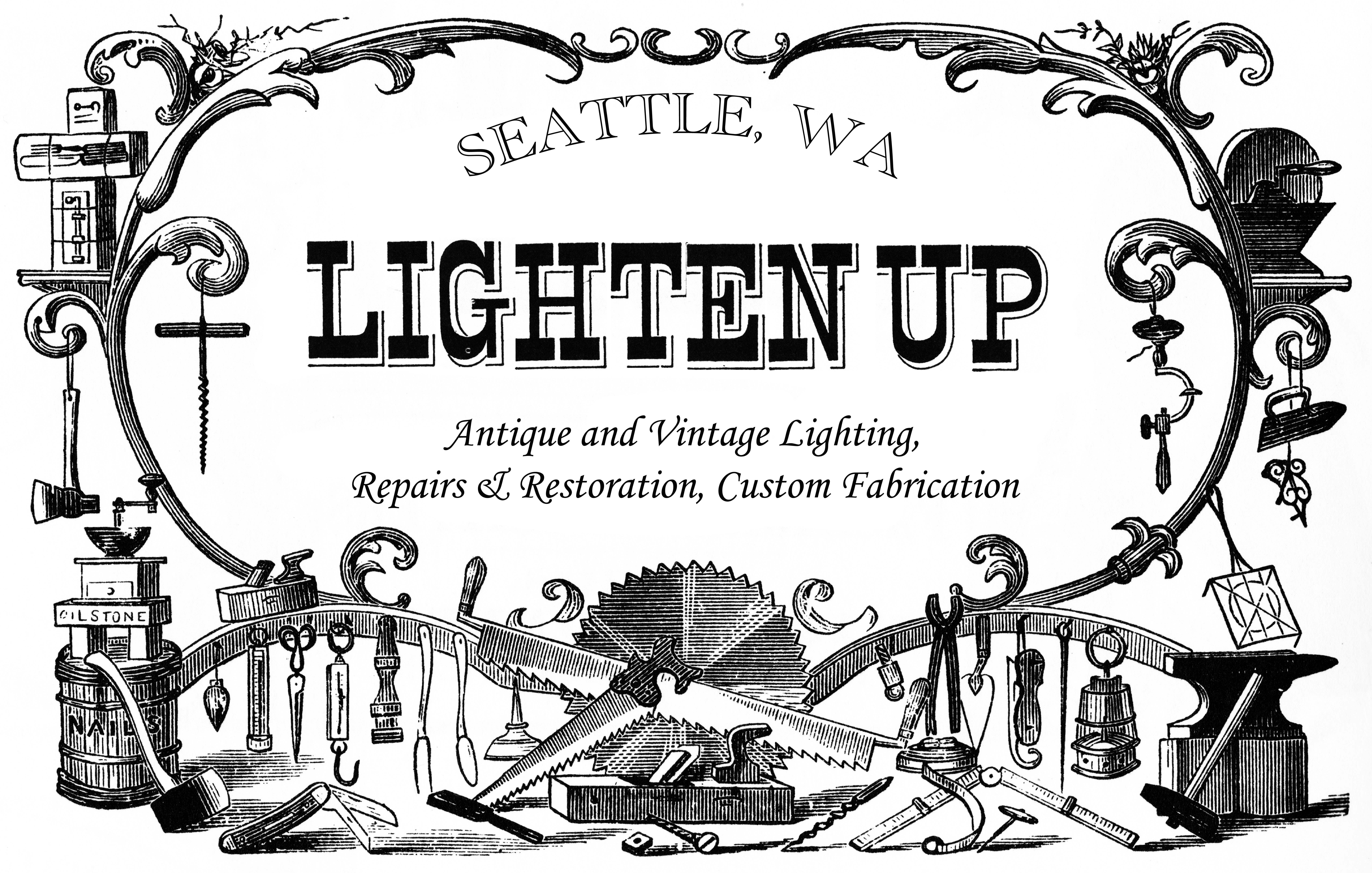 antique  vintage and custom lighting seattle washington
