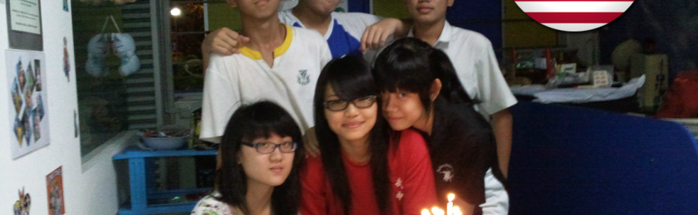 Student from Malaysia Birthday celebration