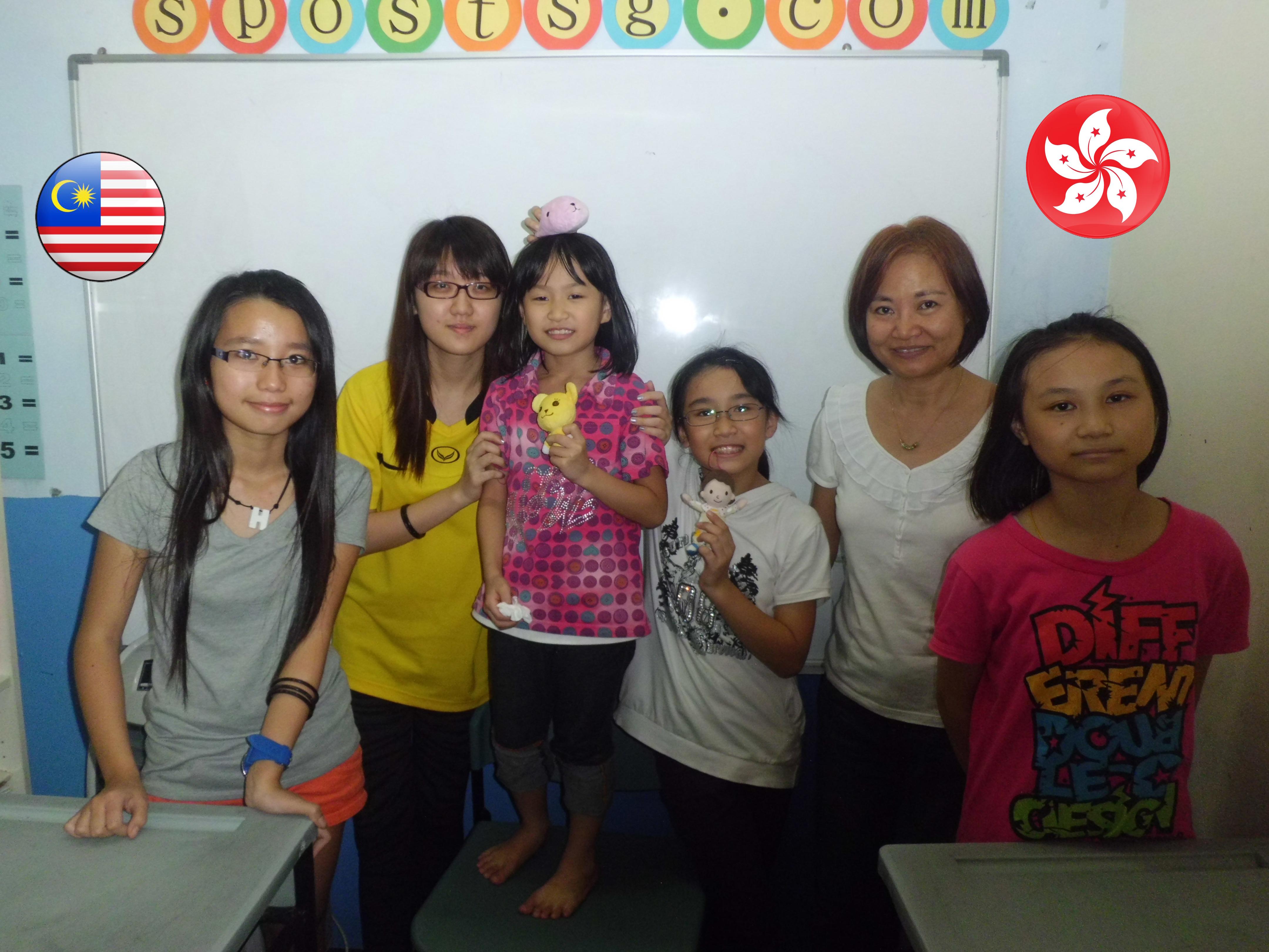 Malaysia + Hong Kong Students
