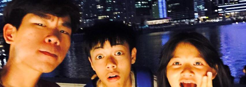 Jin, Fluke and Hui En