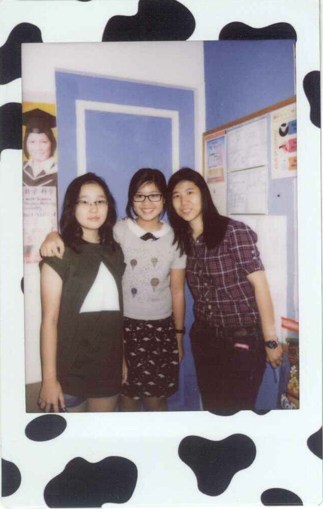Vicki & Nathalee Polaroid