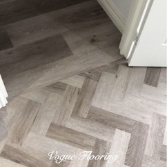 Limed Pebble Grey Parquet and Plank