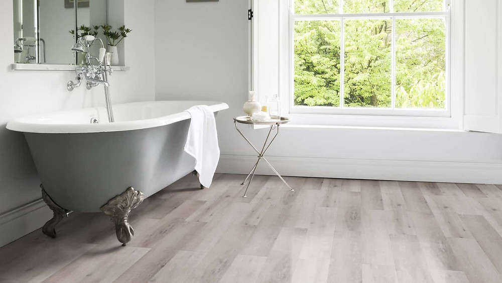 Neobo Bathroom Flooring  LVT