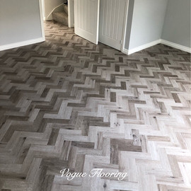 Limed Pebble Grey Parquet