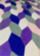 Cork Floor Mosaic