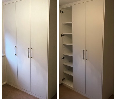 Bespoke wardrobe in East Hunsbury
