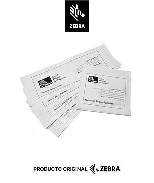 Kit de limpieza para impresoras de tarjetas Zebra