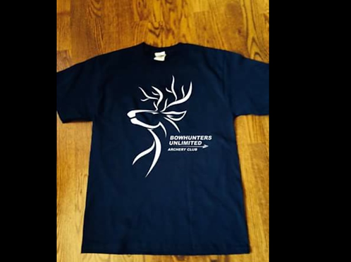 Navy short sleeve club shirt