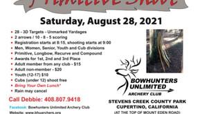 Primitive Shoot - Aug 28, 2021