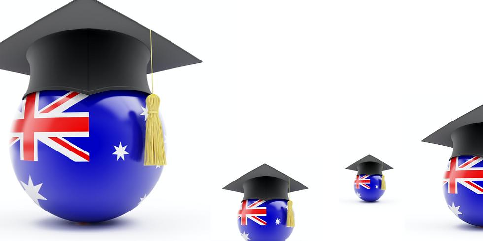 Becas de MA y PhD en Australia:Cómo ganarlas. (evento gratuito)
