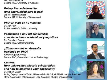 Becas de MA y PhD en Australia: Cómo ganarlas.