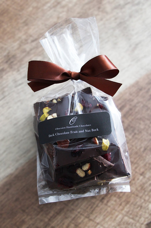 Dark Chocolate Fruit and Nut Bark