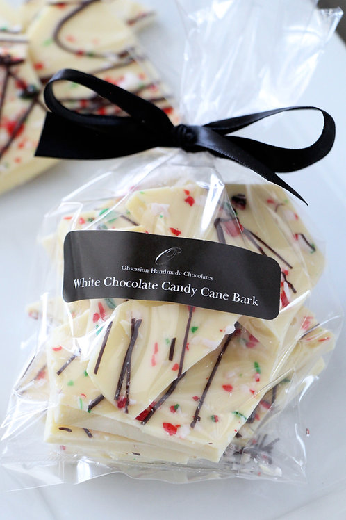 White Chocolate Candy Cane Bark