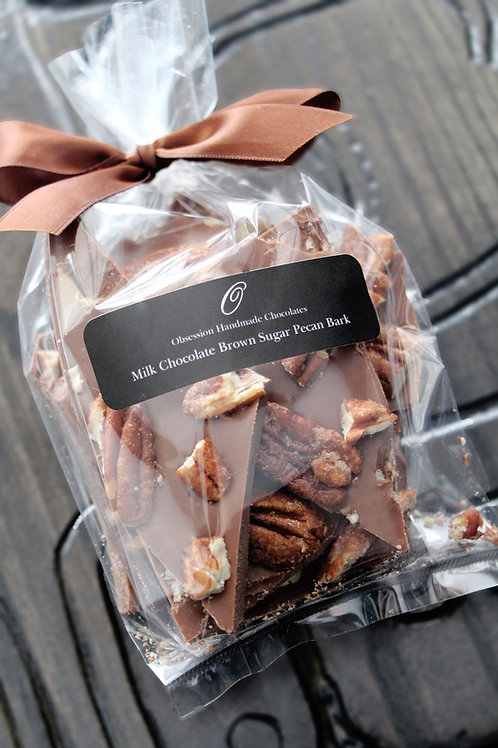 Milk Chocolate Brown Sugar Pecan Bark