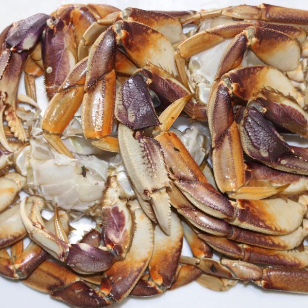 fresh crab ucluelet tofino