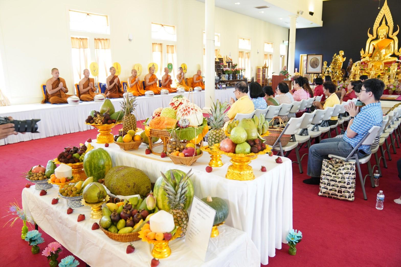 งานอาหารและผลไม้ไทย วัดญานรังษี 23 มิ.ย.
