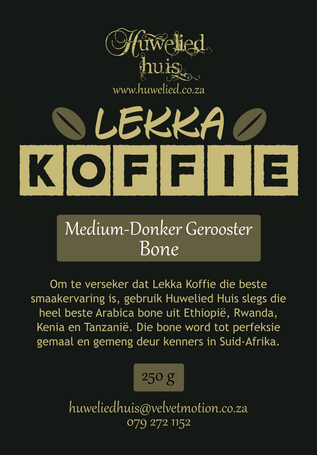 Lekka Medium-Donker Bone 250g