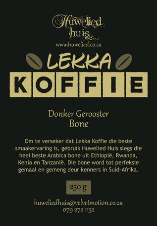 Lekka Donker Bone 250g