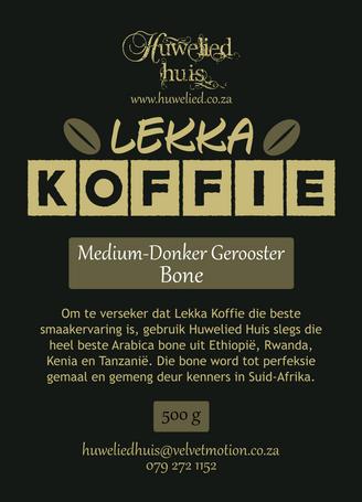 Lekka Medium-Donker Bone 500g