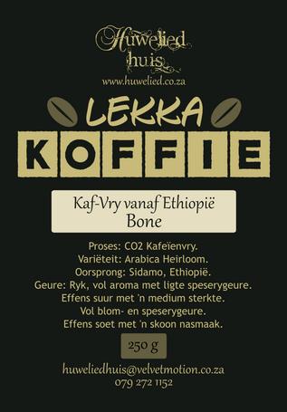 Lekka Kaf-Vry Bone 250g