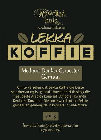 Lekka Medium-Donker Gemaal 500g
