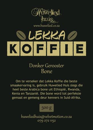 Lekka Donker Bone 500g