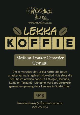 Lekka Medium-Donker Gemaal 250g