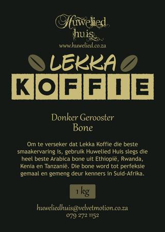 Lekka Donker Bone 1kg