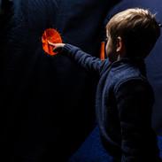 egloo: orange button